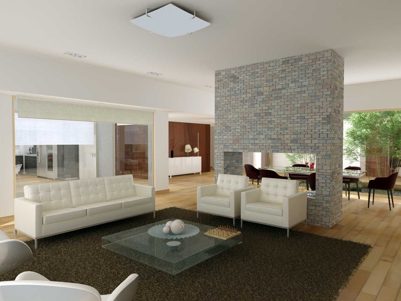 Renders 3D Arquitectura  Renders 10-Farm-Club-living-cam-5
