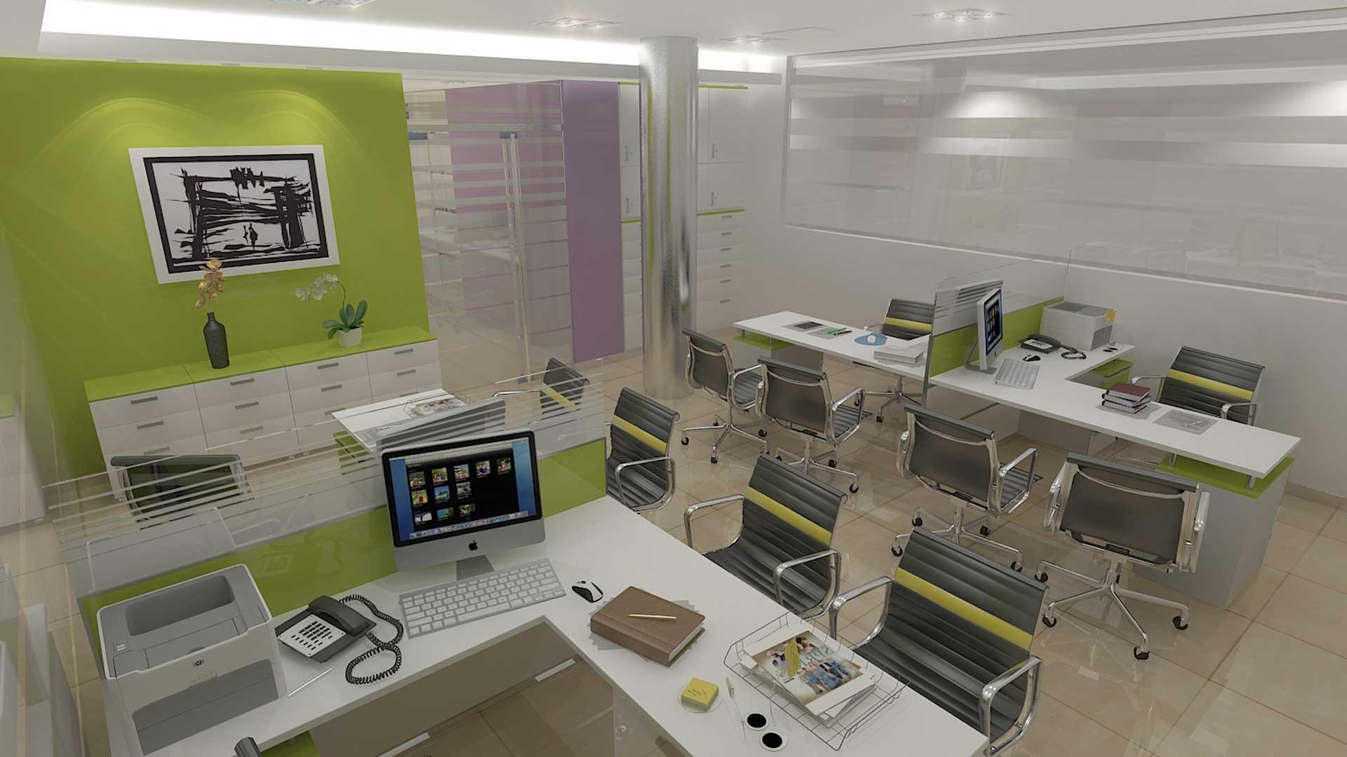 Renders 3D Arquitectura  Renders 101-OSECAC-camara-4-B