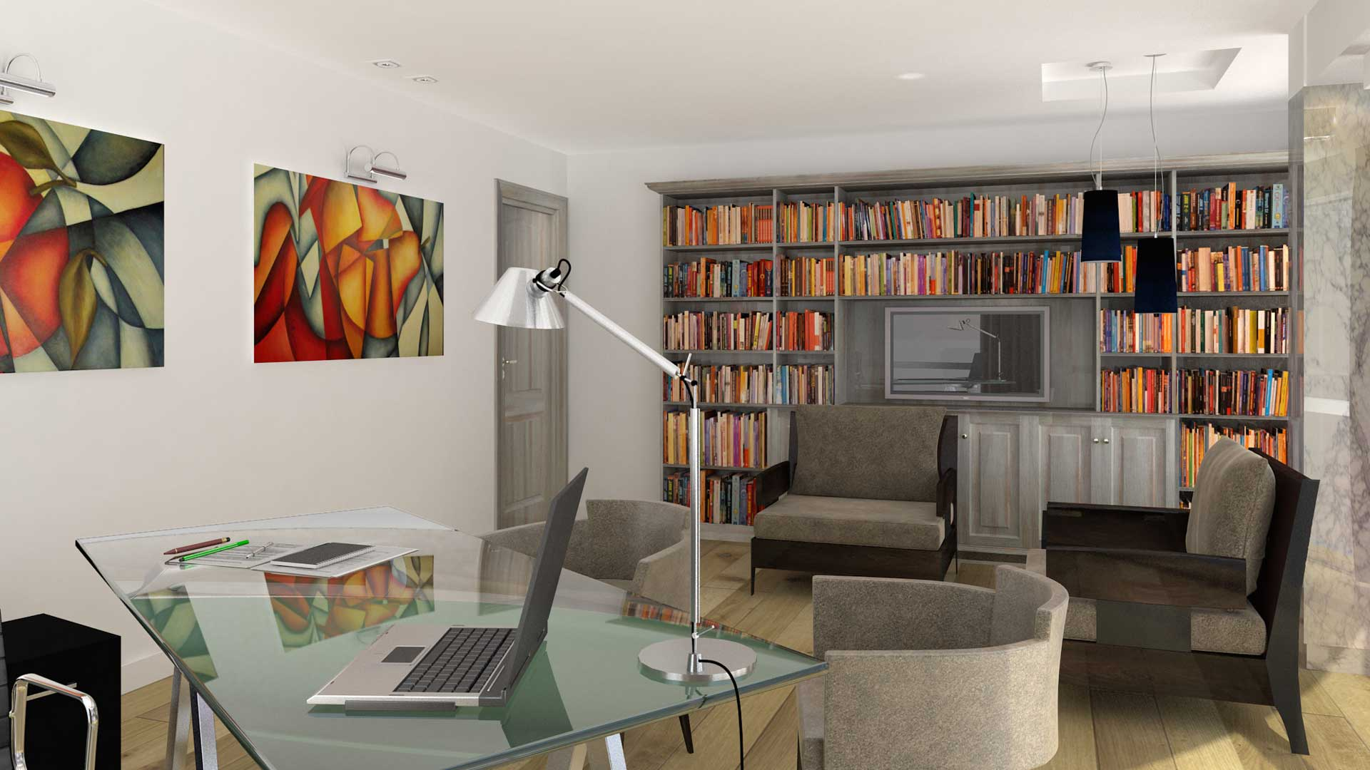 Renders 3D Arquitectura  Renders 301-DIAZ-SIEIRO-camara-3-opcion-1