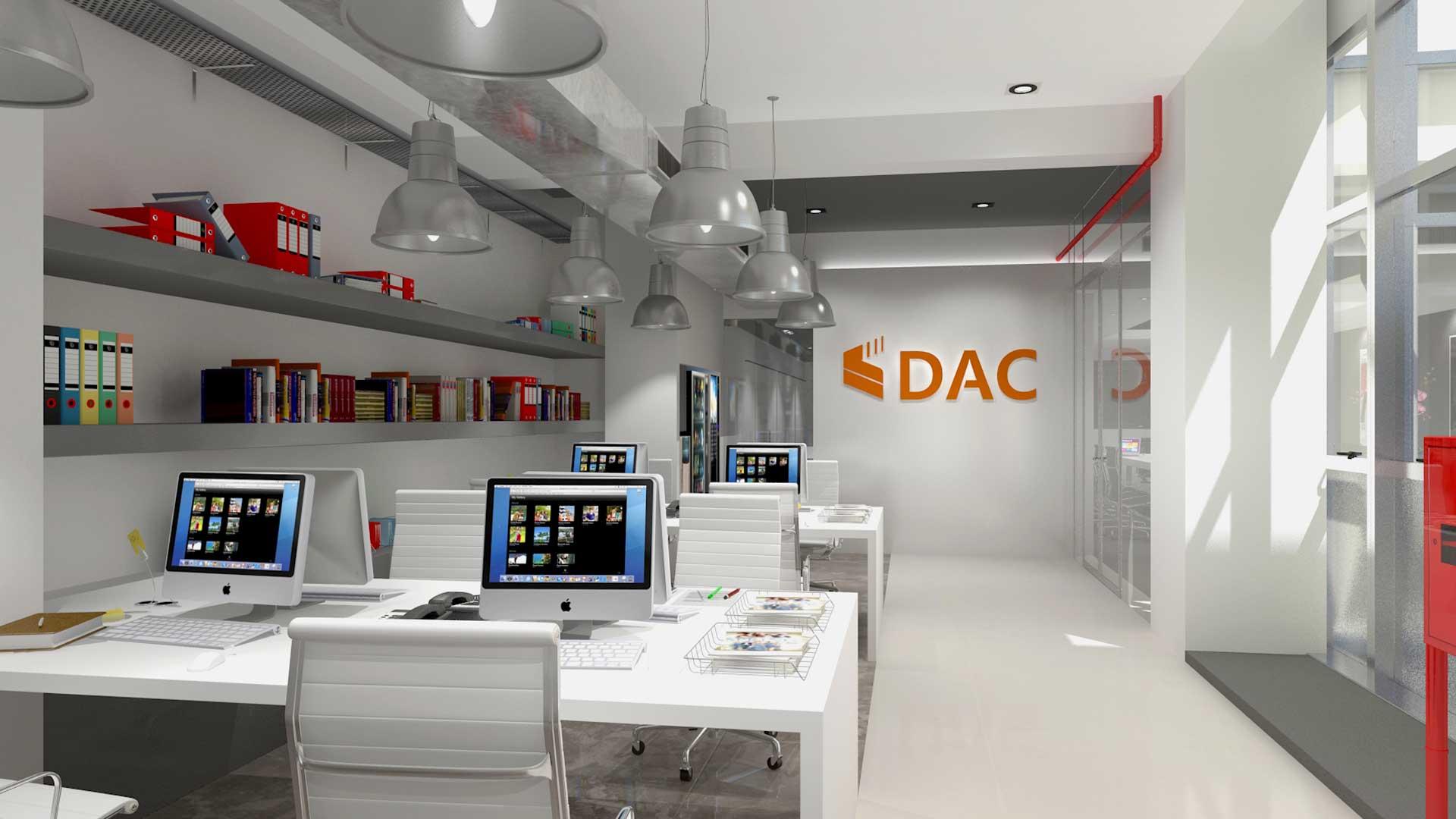 Renders 3D Arquitectura  Oficinas 303-OFICINAS-DAC-camara-10