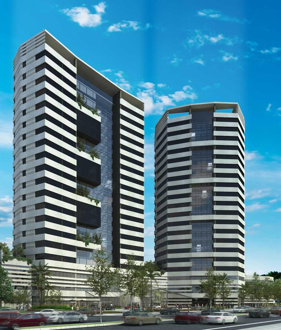 Renders 3D Arquitectura  Renders 404-SHERATON-BOLIVIA-FRENTE-2