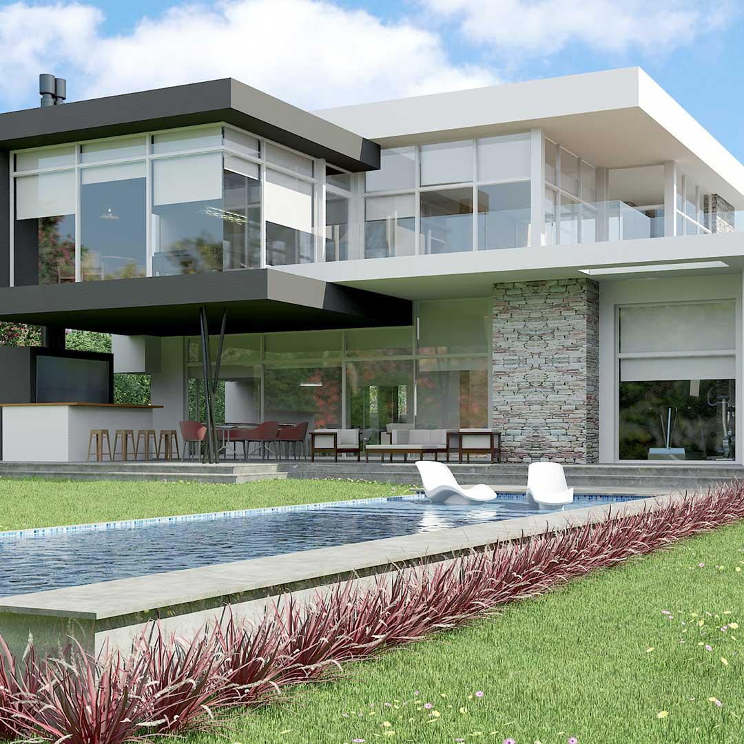 Renders 3D Arquitectura  Renders serv22-CASA-PILARA-2016-11-08-camara-4